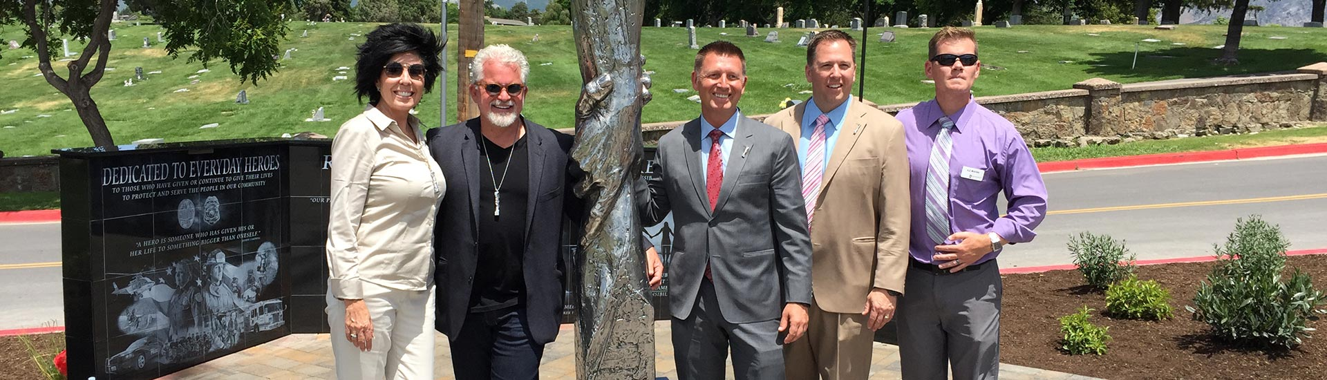 Statue of Responsibility Dedicated in American Fork
