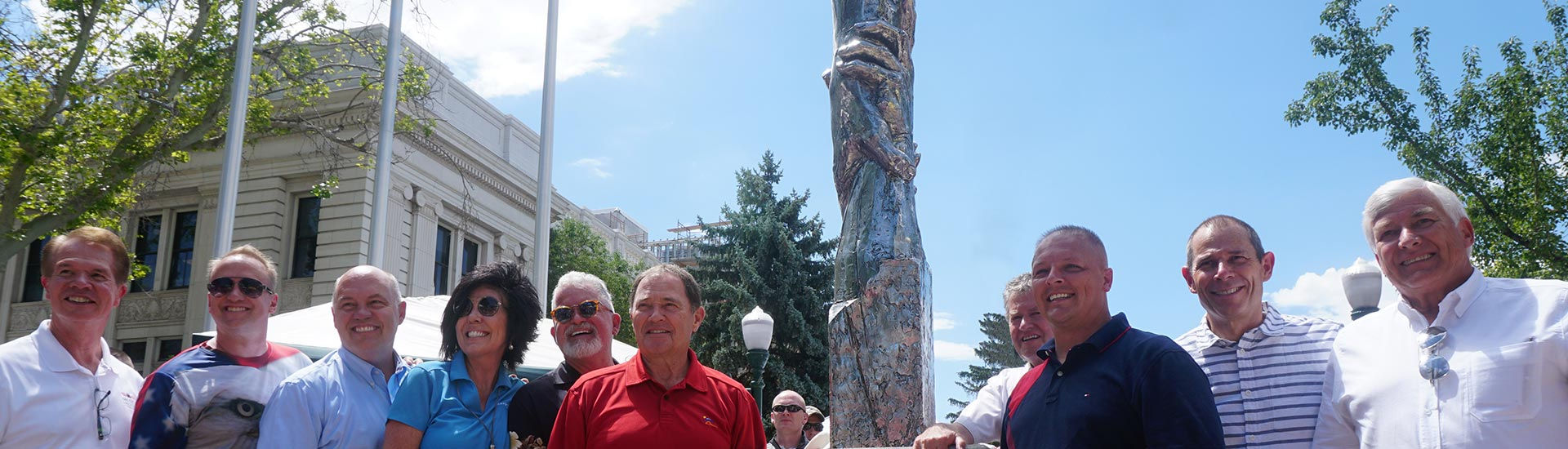 Statue of Responsibility Dedicated in Provo, UT on July 4th, 2016
